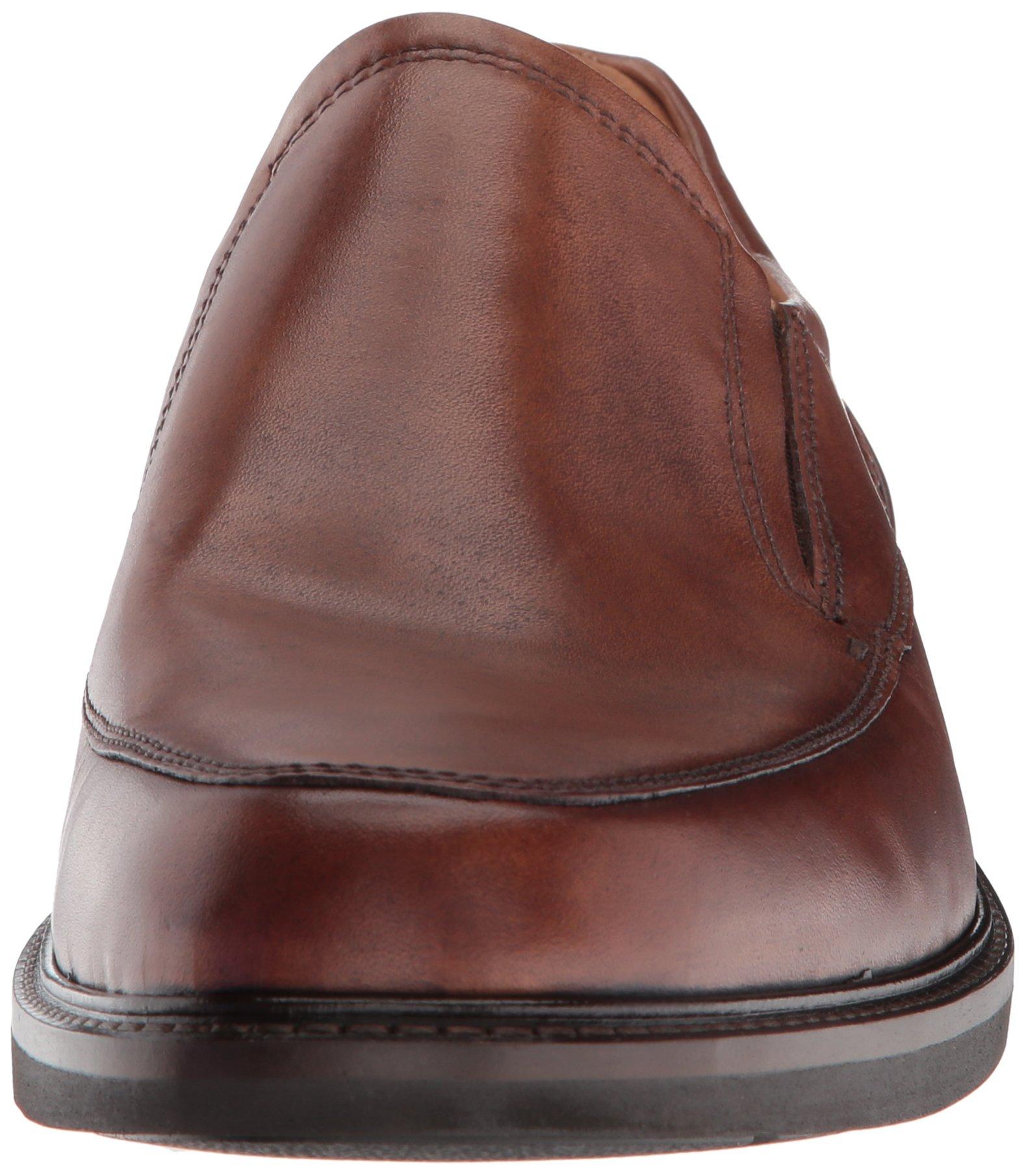 88f89a28e9a ECCO Men's Holton Apron Toe Slip On Loafer, Amber, 44 M EU (10-10.5 ...