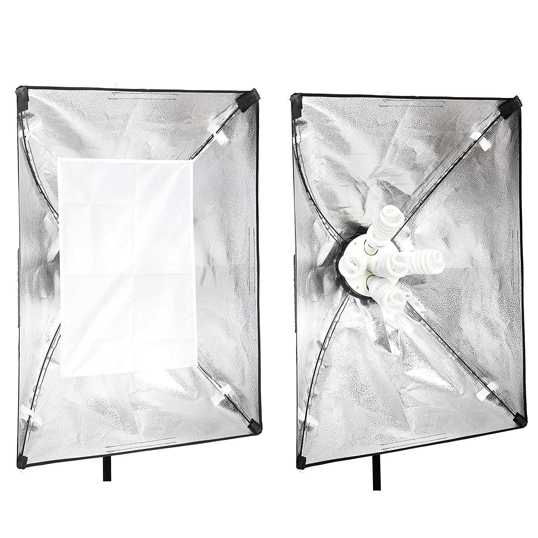 Emart Softbox Photography Lighting Kit,2250 Watt Continute Lighting Photo Studio Softbox 20'' x 28'', 10pcs E27 Video Lighting Bulb by EMART (Image #9)