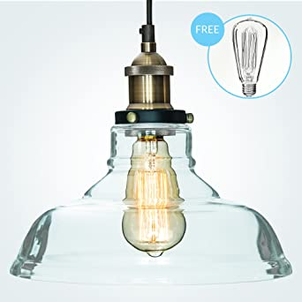 pendant lighting edison bulb. glass pendant light u0026quotthe loftu0026quot with vintage edison bulb 7 value lighting n