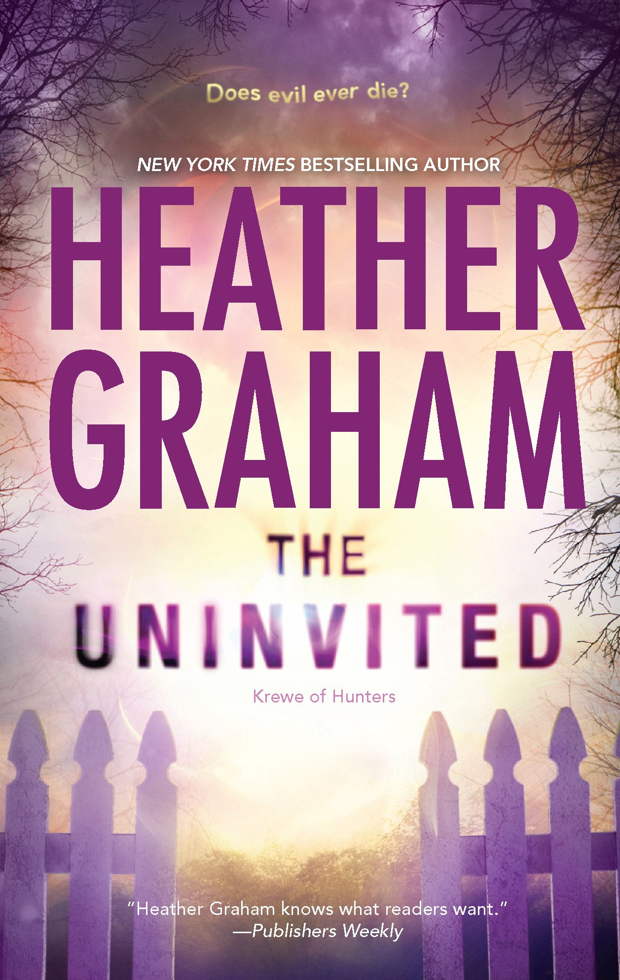 The Uninvited (Krewe of Hunters) PDF Text fb2 book