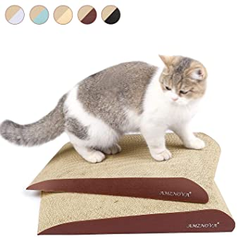 Amazon Com Amznova Inclined Cat Scratchers Cardboard Durable