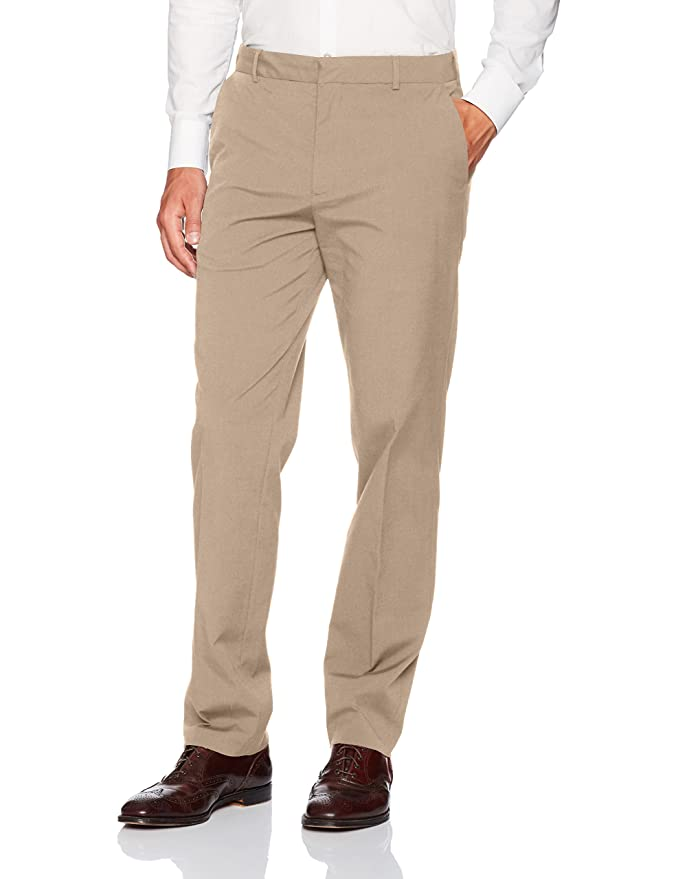 Van Heusen Mens Flex Flat Front Oxford Chino At Amazon Mens