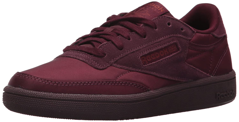 Reebok Women's Club C 85 Soft Sneaker B074V2KPVW 7 B(M) US Dark Red/Rust Met