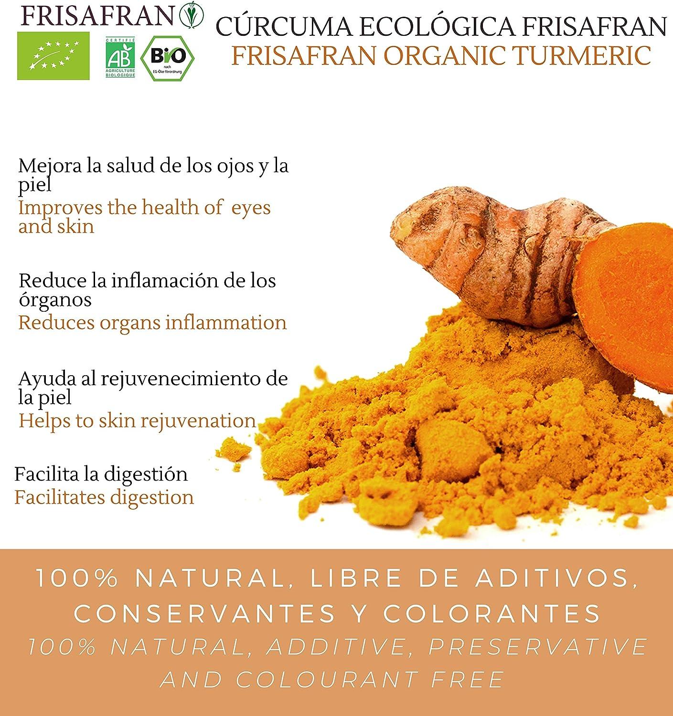FRISAFRAN - Cúrcuma en polvo Ecologica (1Kg)