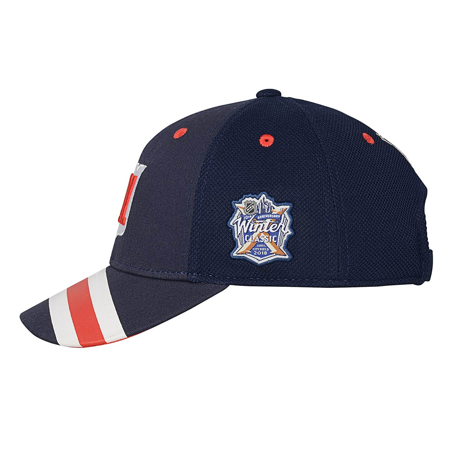 OuterStuff Youth New York Rangers Navy 2018 Winter Classic Structured  Adjustable Hat  Amazon.ca  Clothing   Accessories dc35cf359209