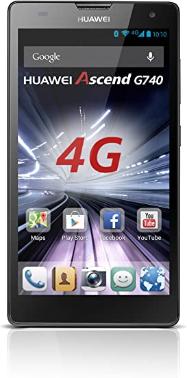 Huawei Ascend G740 - Smartphone Libre Android (Pantalla 5