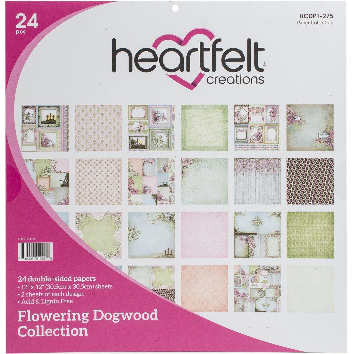 Heartfelt Creations Doppelseitiges Papier Pad 31,75/x 30,48/x 0,76/cm Mehrfarbig