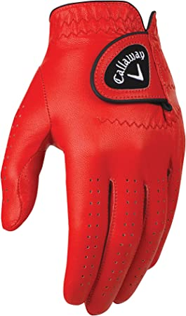 Callaway Golf Men's OptiColor Leather Glove best golf gloves
