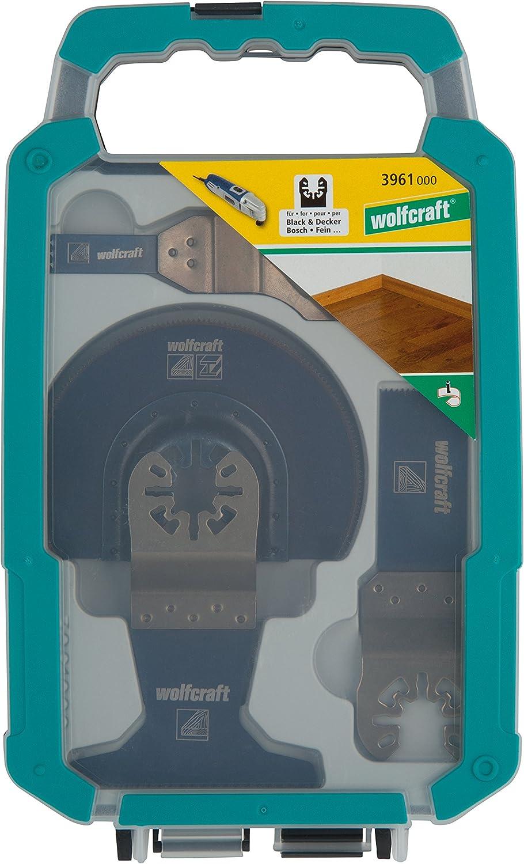 Wolfcraft 3961000 Kit pour outils multifonctions pour r/éparation de carrelage Vert
