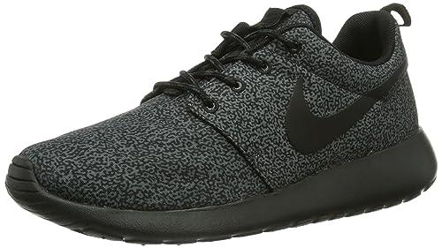 Nike Womens Rosherun Print Trainers 599432 Sneakers Shoes