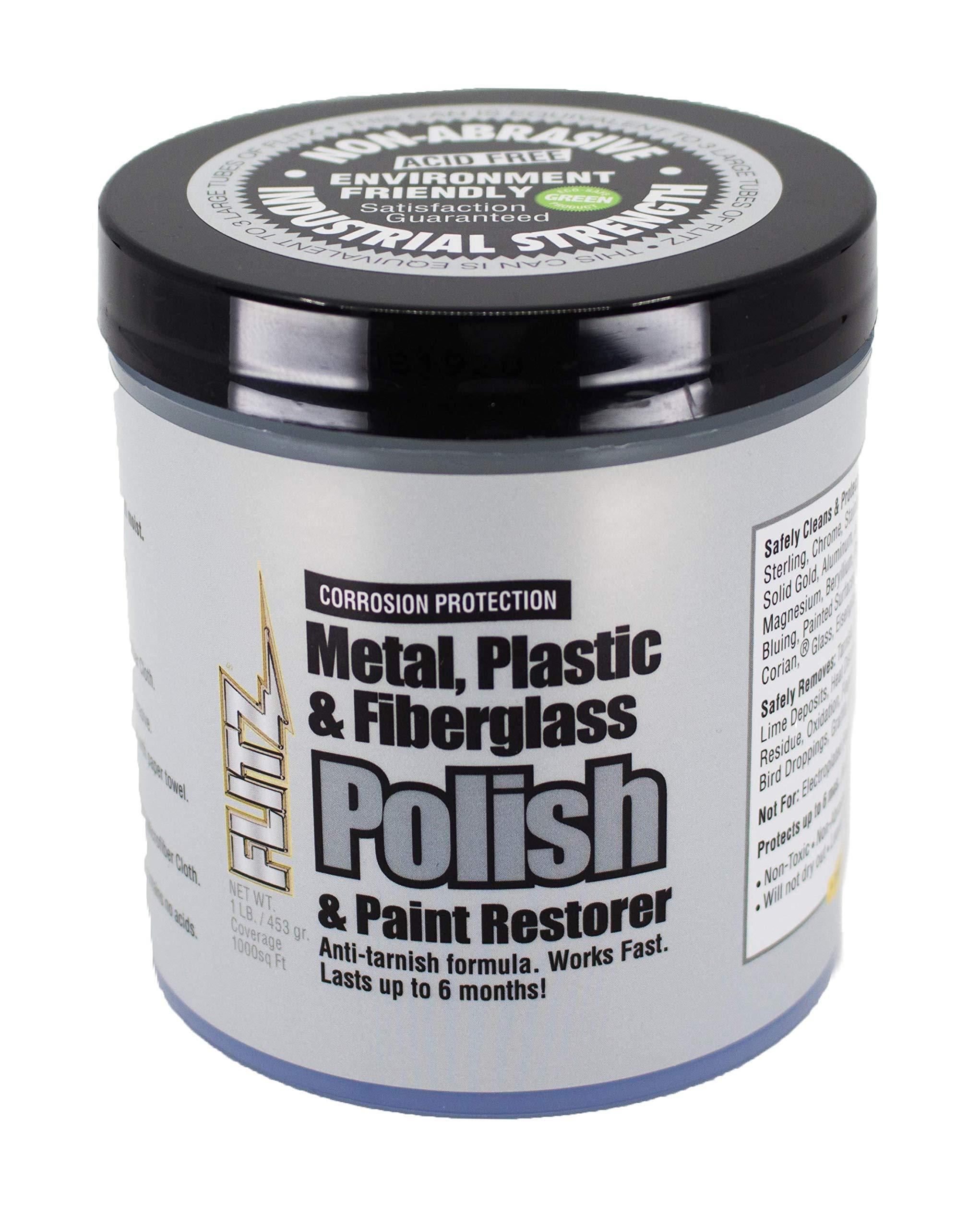 Flitz - CA 03516-6 Paste Polish Can - 1 Pound