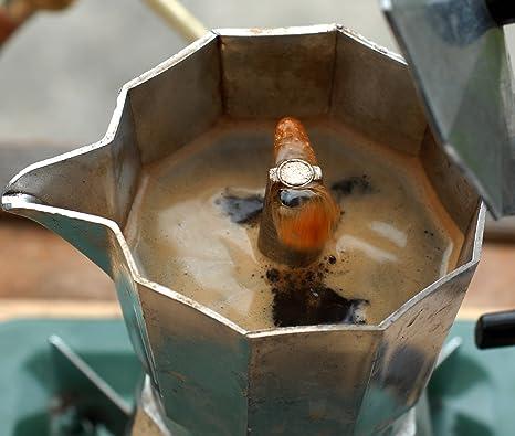 Amazon.com: 3 taza Estufa cafetera de espresso – para gas ...