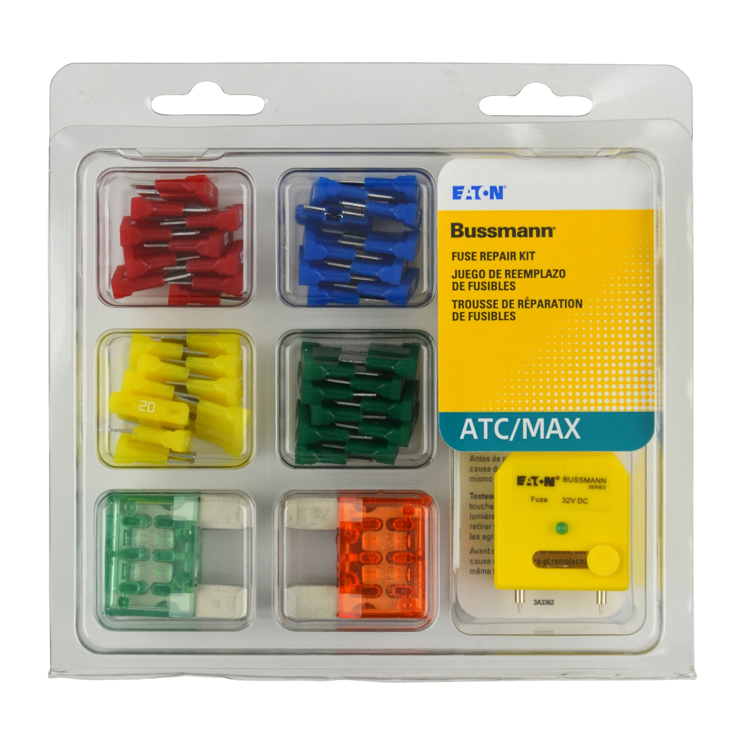 Bussmann NO.53 ATC and MAXI Blade Fuse Tester/Puller Kit