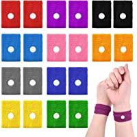 TUPARKA 10 Pair Travel Anti-Nausea Bands for Adults and Children, Anti Sickness Wristbands Natural Acupressure Nausea Relief Bracelet for Motion and Pregnancy Morning Sickness