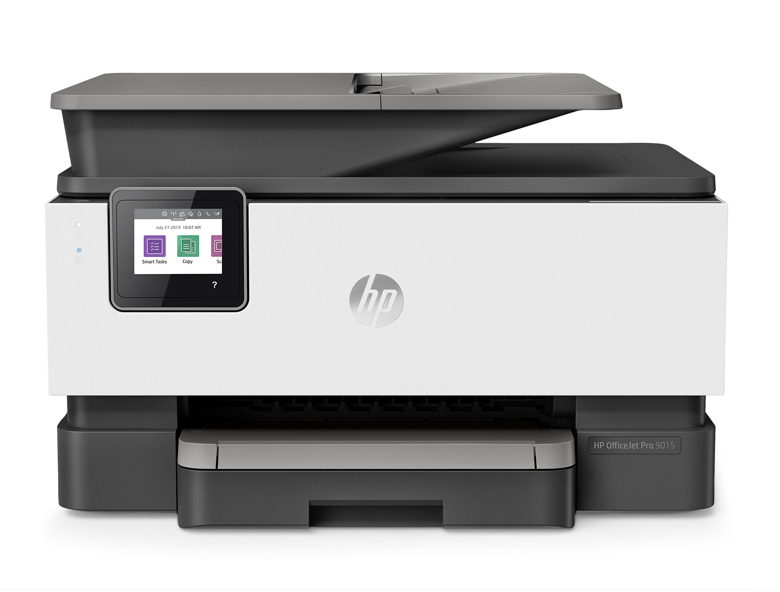 HP OfficeJet Pro 9015 All-in-One Wireless Printer, with Smart Tasks for Smart Office Productivity & Never Run Out of Ink with HP Instant Ink (1KR42A) by HP