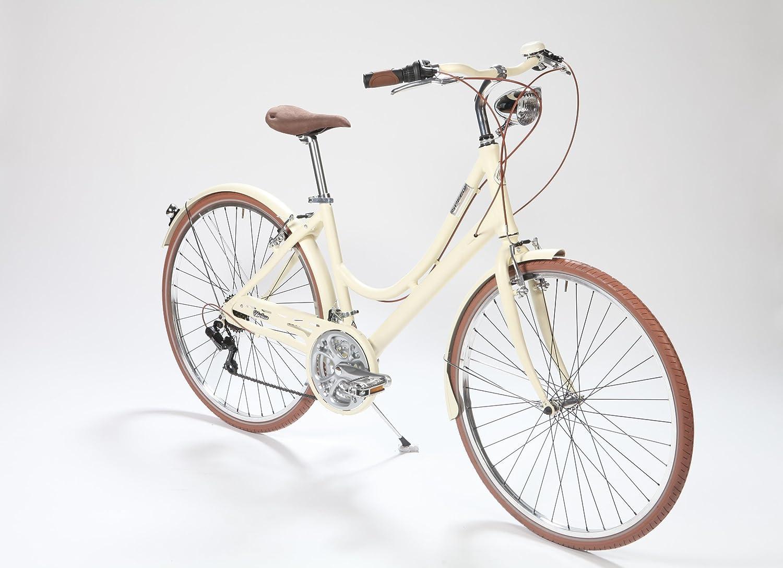 LA Urban Sand Satin: Bicicleta Paseo Mujer en Aluminio 21 velocidades: Amazon.es: Deportes y aire libre