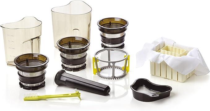 Chef Plus Essential Slow Juicer: Extractor de zumos, BPA Free, ultrasilencioso y con más Potencia 400W: Amazon.es: Hogar