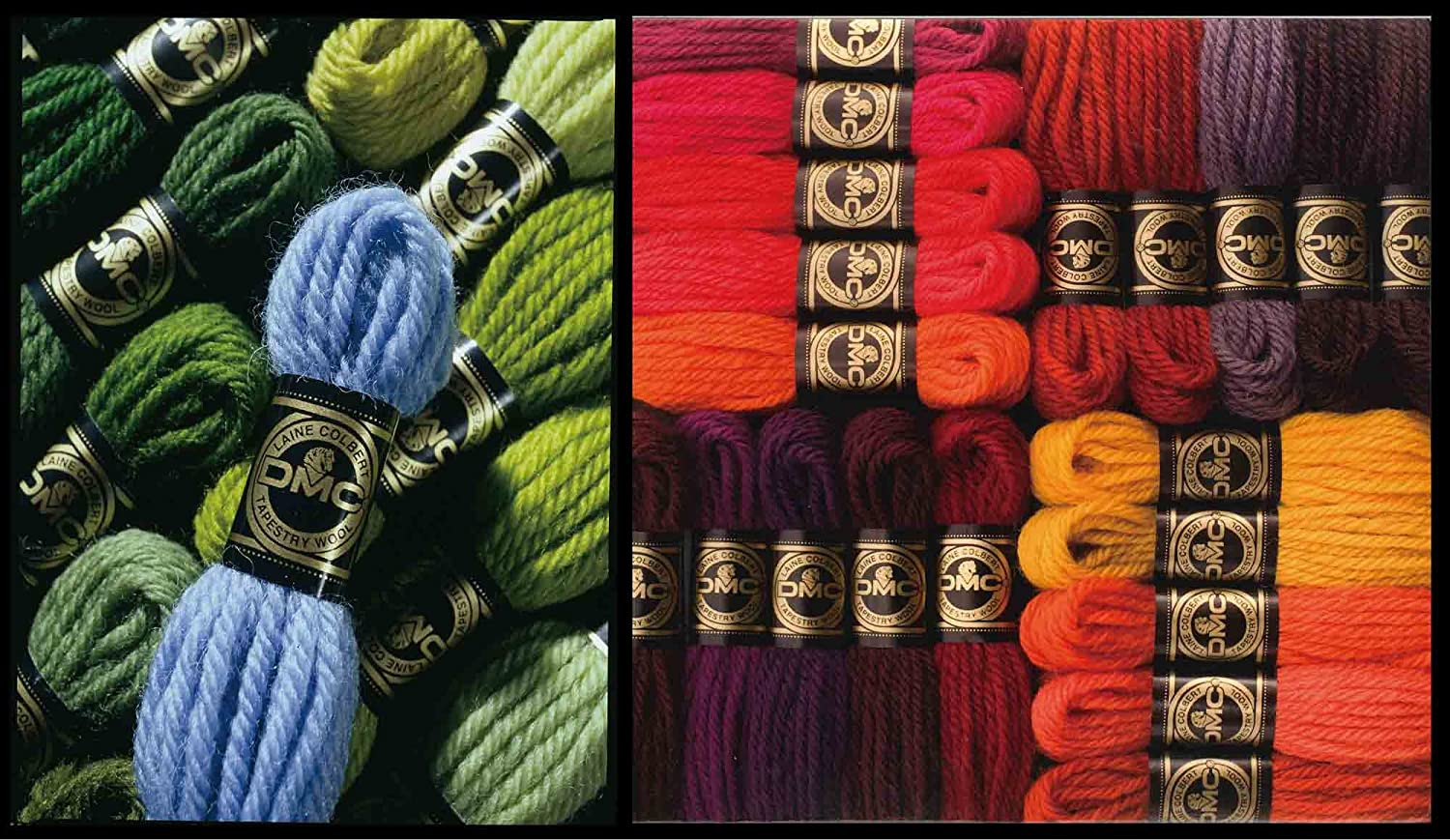 8.8-Yard Very Dark Mahogony DMC 486-7479 Tapestry and Embroidery Wool