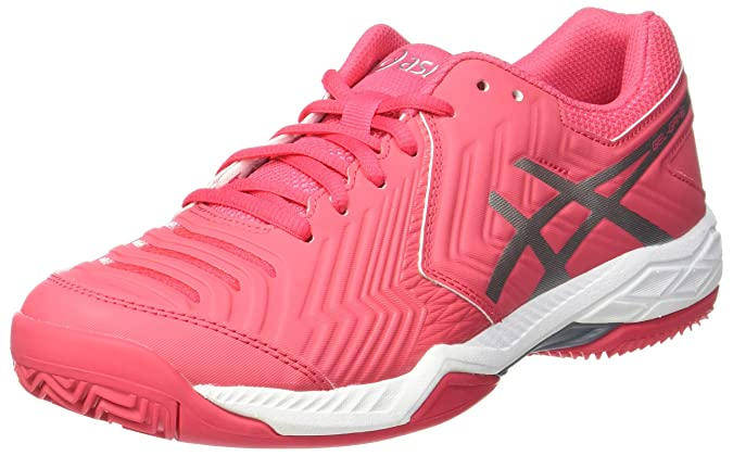 Womens Gel-Challenger 11 Clay Tennis Shoes, Scuro Blu/Rosa Asics
