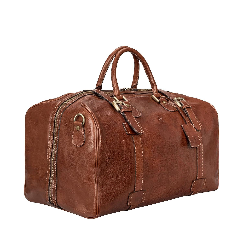346bf16ec Maxwell-Scott® Luxurious Premium Quality Classic Tan Italian Leather ...