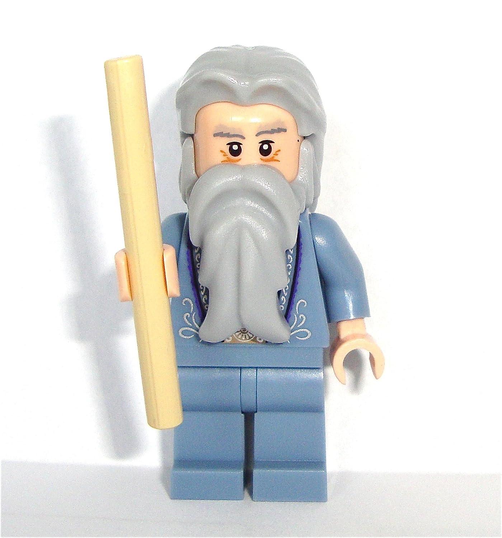 Lego Harry Potter 2010 Mini Figure Dumbledore with Wand
