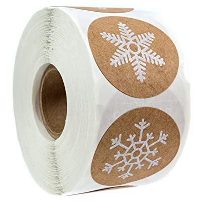 Snowflake decorative tape