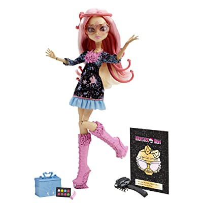 Monster High Frights, Camera, Action! Viperine Gorgon Doll (Discontinued by manufacturer): Toys & Games