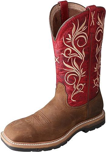 Steel Toe Lite Western Work Boot