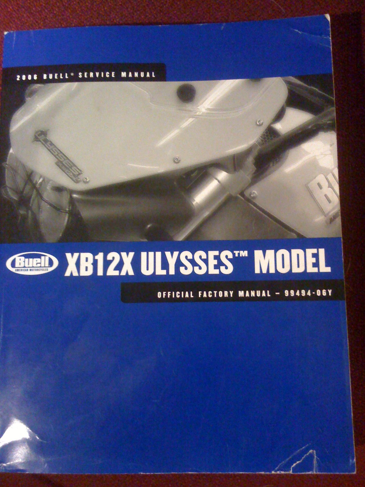 2006 xb12x buell ulysses model service manual official factory rh amazon com Buell Ulysses Forum Buell Ulysses Lower Seat