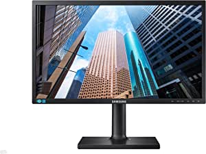 Samsung SE450 Series 23.6 inch FHD 1920x1080 Desktop Monitor for Business with DisplayPort, DVI, VGA, VESA mountable, 3-Year Warranty, TAA (S24E450DL)