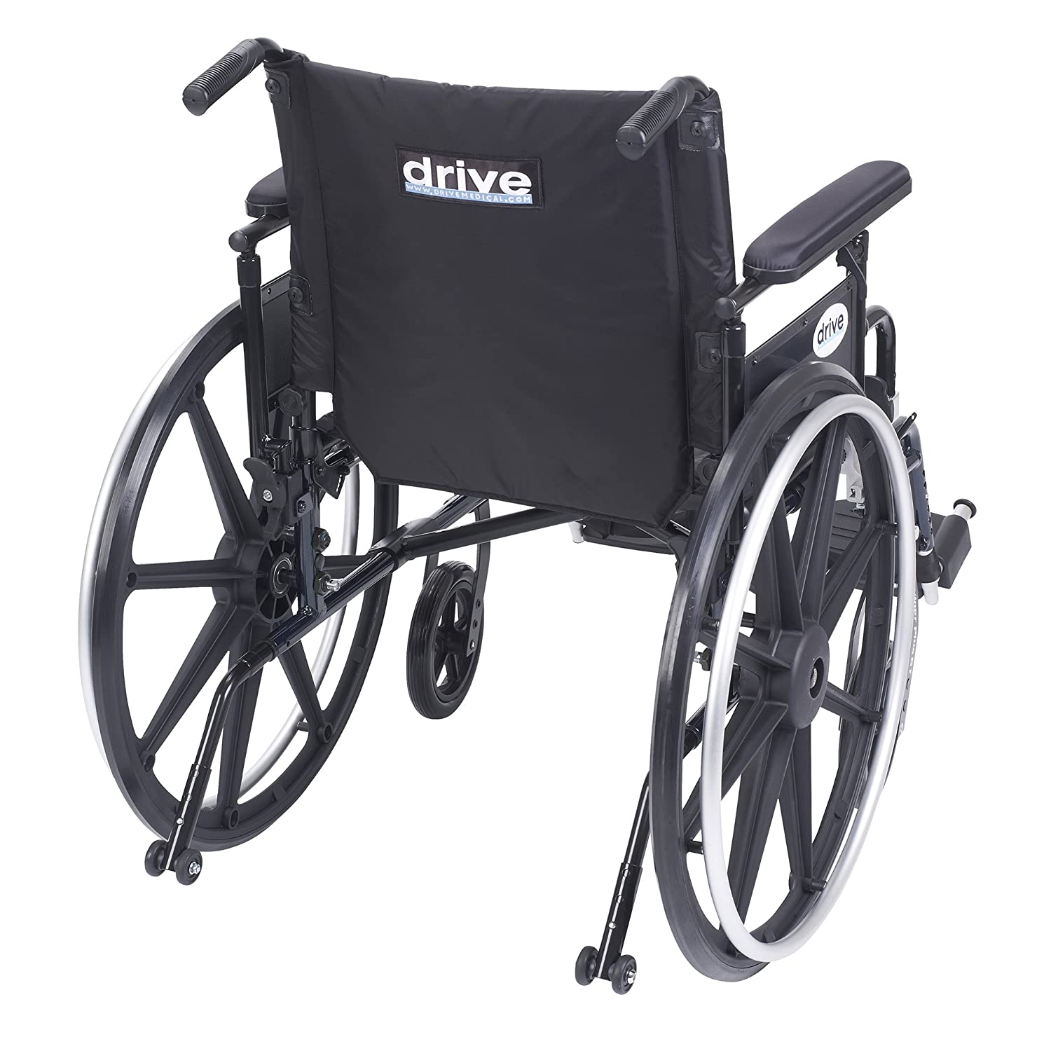 Amazon Drive Medical Viper Plus GT Wheelchair with Flip Back