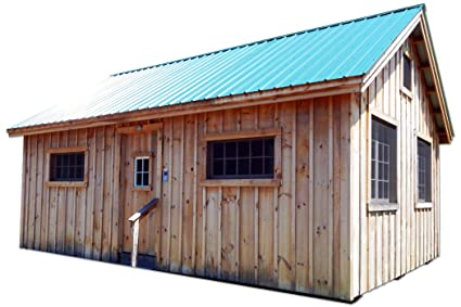 16x20 Timber Frame Post and Beam Vermont Cottage (B) with