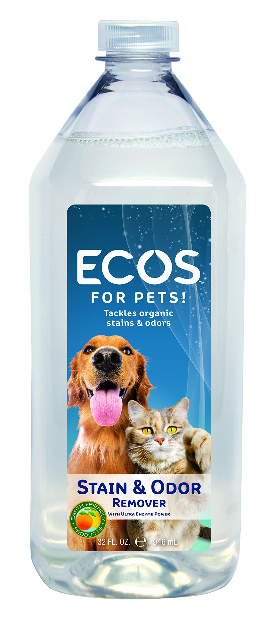 Earth Friendly Products Proline 9709/32 EFP Pet Naturals Stain and Odor Remover, 32oz Bottles (Case of 6) by Earth Friendly Proline