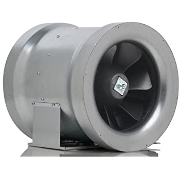 Ac Infinity Cloudline T8 Quiet 8 Quot Inline Duct Fan With