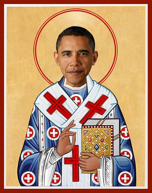 Amazon.com: Barack Obama Celebrity Prayer Candle - Funny Saint Candle -  Former President Political Novelty Gift - 100% Handmade in USA: Home  Improvement