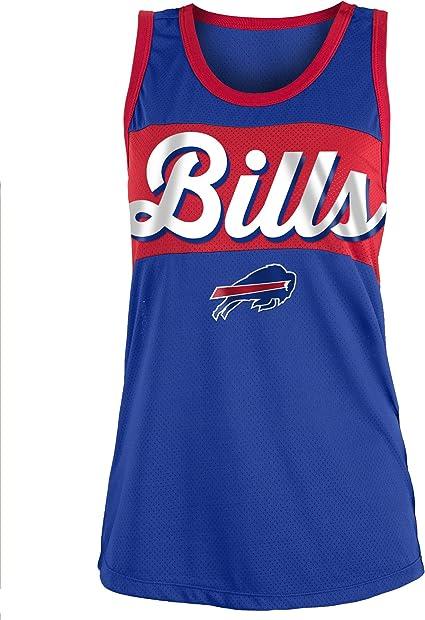 Large NFL Buffalo Bills Ultra Game Womens MESH RACERBACK TANK Team Color