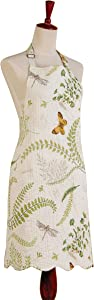 C&F Home 29x31 Adult Quilted Reversible Apron, Althea