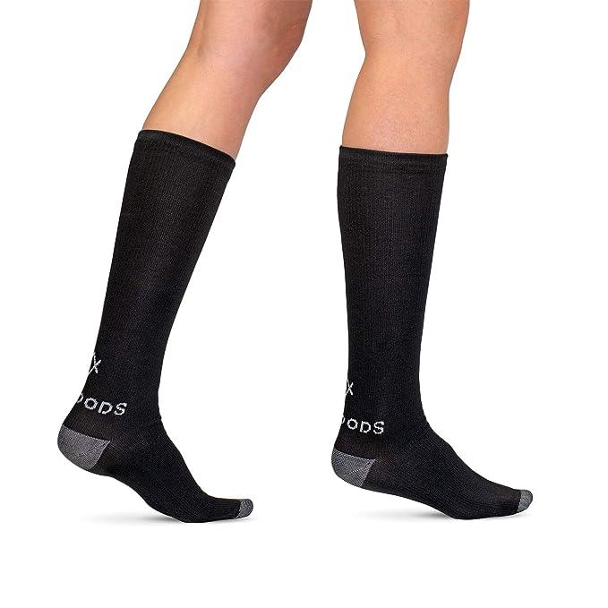 1 paar Weich Kompressionsstrümpfe Stützstrümpfe Knie-Strümpfe-Socken