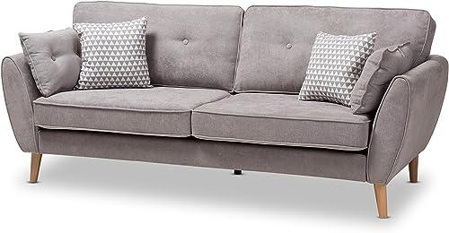 Baxton Studio Manuela Sofa - a good cheap living room sofa