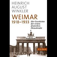 Weimar 1918-1933: Die Geschichte der ersten deutschen Demokratie (Beck Paperback)