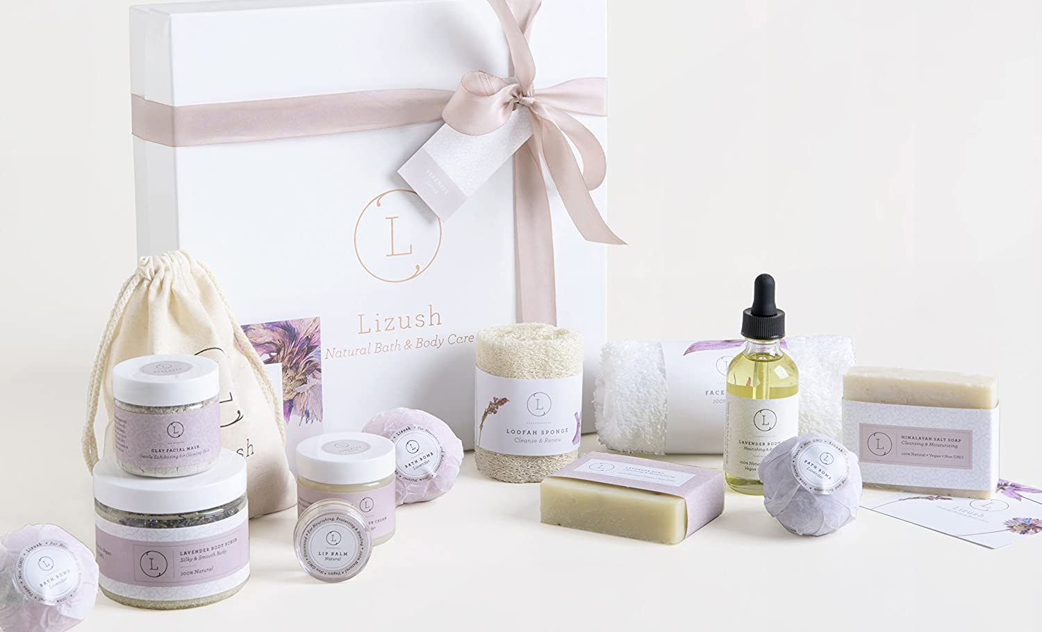 Lavender Spa Gift Baskets Page Two - Gift Baskets Worldwide