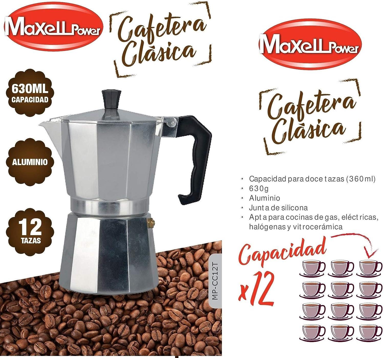 CAFETERA Italiana CLÁSICA Aluminio CAFÉ Junta Silicona 4 Modelos ...