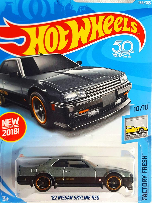 Hot Wheels '82 NISSAN SKYLINE R30 FACTORY FRESH 10//10 50th Anniversary lot of 3