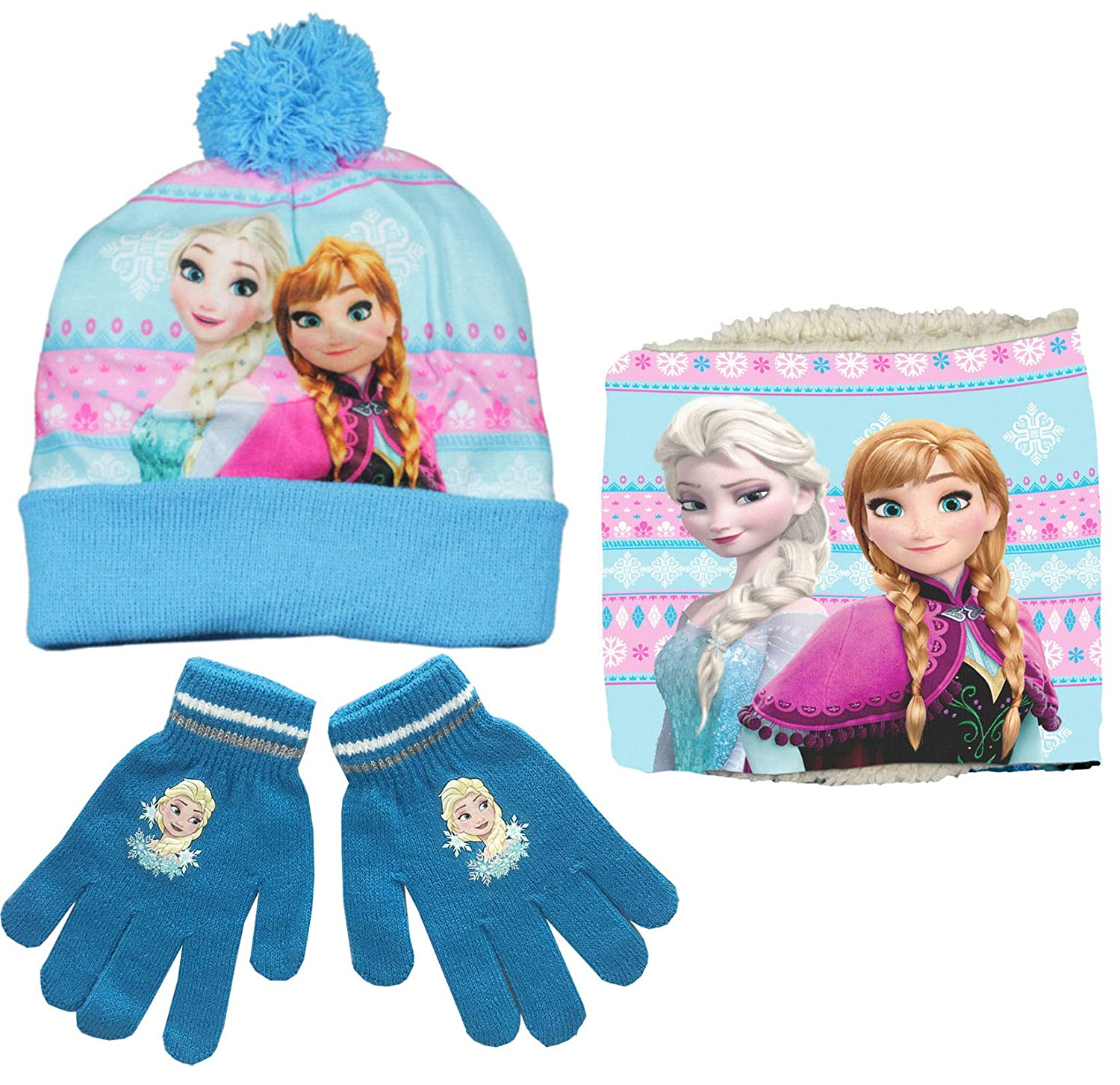 Frozen Hat And Glove Set