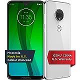 Motorola Moto G7 – Unlocked – 64 GB – Clear White (US Warranty) - Verizon, AT&T, T-Mobile, Sprint, Boost, Cricket…