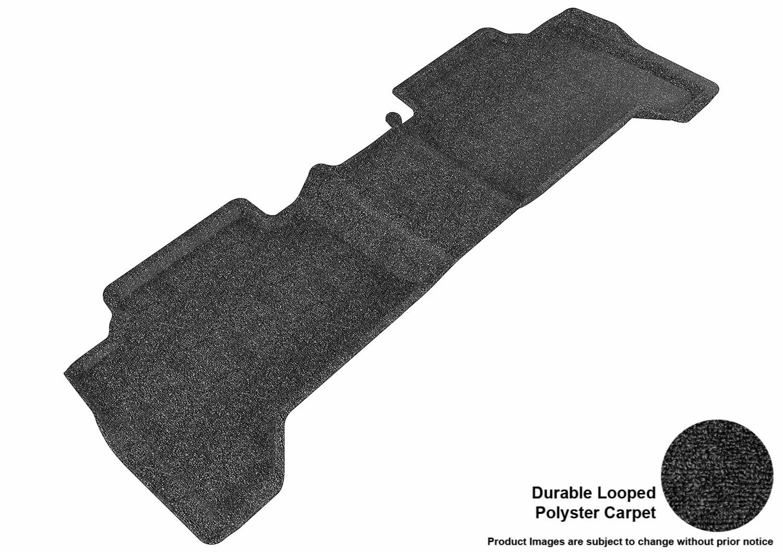 Tan 3D MAXpider Second Row Custom Fit Floor Mat for Select Toyota Tacoma Models Classic Carpet L1TY05722202