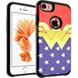 """iPhone 6S Case, DURARMOR Iphone 6 4.7 inches Wonder Woman Dual Layer Hybrid Bumper ShockProof Ultra Slim Fit Armor Air Cushion Defender Protector Cover for 4.7"""" iPhone 6s iPhone 6"""