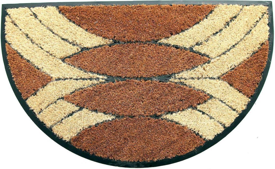 Tapis dEntr/ée Exterieur et Int/érieur Tapis Coco Premium Paillasson tr/ès Absorbant 100 /% Fibre de Coco Naturelle avec endos en PVC Coco/&Coir/® Paillasson en fibre de coco