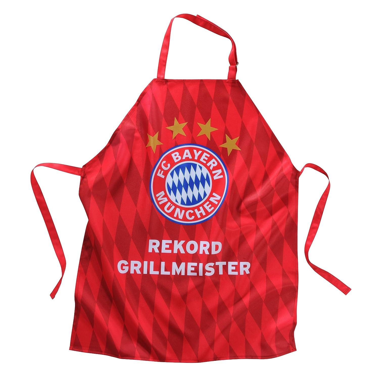 FC Bayern Apron Record BBQ Master Red