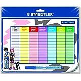 Staedtler Stundenplan-Set Lumocolor Correctable Din A4